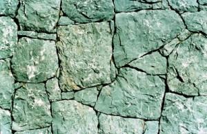 gebze taştan yığma taş duvar
