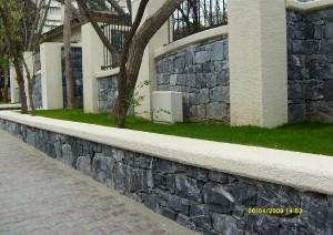 yığma taş duvar
