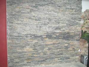 kayrak taşı yatay kuru duvar