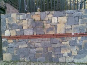 ebatlı kayrak duvar