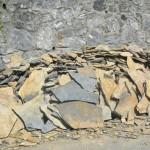 kayrak taş stoktan görünüm