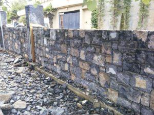 gebze taşı ebatlı taş duvar