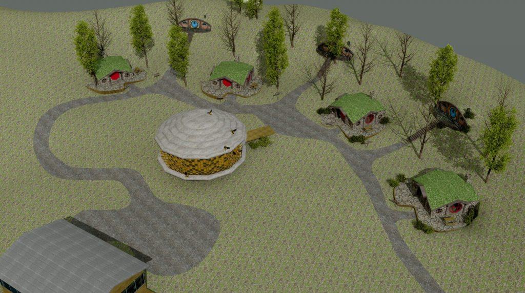 Hobbit Ev çizim 3